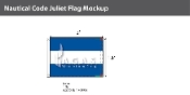 Juliet Deluxe Flags 1.5x2 foot