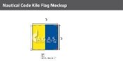 Kilo Deluxe Flags 3x3 foot