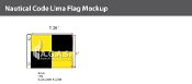 Lima Deluxe Flags 1x1.25 foot