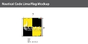 Lima Deluxe Flags 2x2 foot