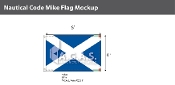 Mike Deluxe Flags 4x6 foot