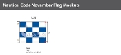 November Deluxe Flags 1x1.25 foot