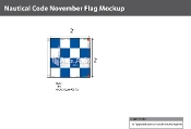November Deluxe Flags 2x2 foot