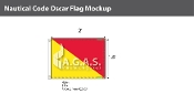 Oscar Deluxe Flags 1.5x2 foot