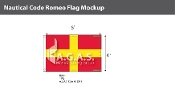 Romeo Deluxe Flags 4x6 foot