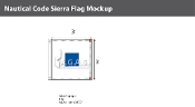Sierra Deluxe Flags 3x3 foot