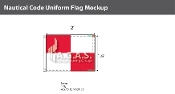 Uniform Deluxe Flags 1.5x2 foot