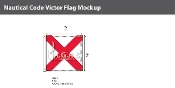 Victor Deluxe Flags 2x2 foot