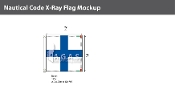 X-Ray Deluxe Flags 2x2 foot