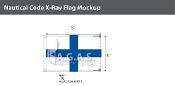 X-Ray Deluxe Flags 4x6 foot