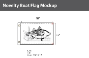 Striped Bass Flags 12x18 inch