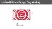 Stop and Save Flags 3x5 foot