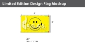 Smiley Face Flags 3x5 foot