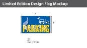 Parking Flags 3x5 foot
