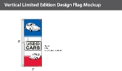 Used Cars Flags 8x2.5 foot (Horizontal Stripes)