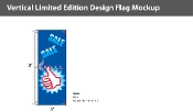 Sale Thumbs Up Flags 8x2.5 foot