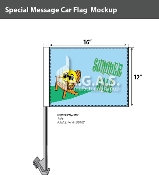 Summer Sale Car Flags 12x16 inch