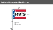 Patriotic RV's Premium Car Flags 10.5x15 inch