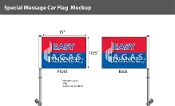 Easy Finance Premium Car Flags 10.5x15 inch