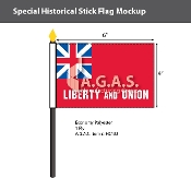 Taunton Stick Flags 4x6 inch