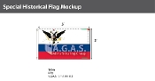Russian American Company Flags 3x5 foot