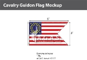 Cavalry Guidon Flags 3x5 foot
