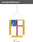 Episcopal Mini Banners 4.75x3.5 inch