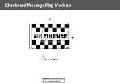 We Finance Checkered Flags 2x3 foot
