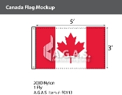 Canada Flags 3x5 foot