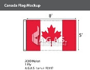 Canada Flags 5x8 foot