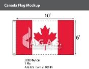 Canada Flags 6x10 foot