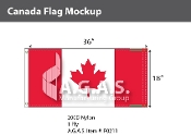 Canada Flags 18x36 inch (Official ratio 1:2)