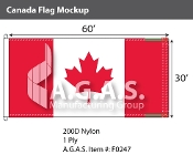 Canada Flags 30x60 foot (Official ratio 1:2)
