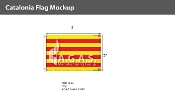 Catalonia Flags 2x3 foot