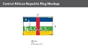 Central African Republic Flags 5x8 foot