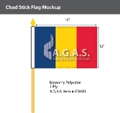 Chad Stick Flags 12x18 inch