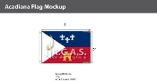 Acadiana Flags 2x3 foot