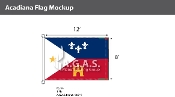 Acadiana Flags 8x12 foot