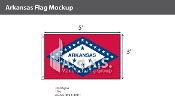 Arkansas Flags 3x5 foot
