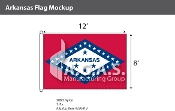 Arkansas Flags 8x12 foot