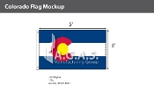 Colorado Flags 3x5 foot