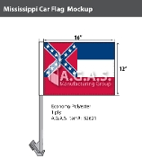 Mississippi Car Flags 12x16 inch