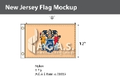 New Jersey Flags 12x18 inch