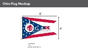 Ohio Flags 4x6 foot