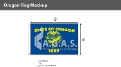 Oregon Flags 4x6 foot