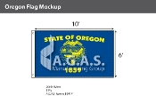 Oregon Flags 6x10 foot