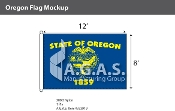 Oregon Flags 8x12 foot