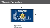 Wisconsin Flags 3x5 foot