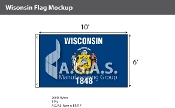 Wisconsin Flags 6x10 foot