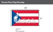 Puerto Rico Flags 6x10 foot